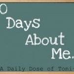 30 Days About Me. Something I am OCD About