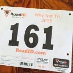 Why Not Tri 2015 bib